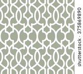 moroccan trellis pattern... | Shutterstock .eps vector #375869890