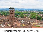 Cityscape Of Lucca With Guinig...