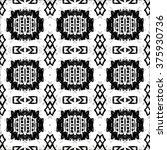 ethnic aztec pattern. striped... | Shutterstock .eps vector #375930736