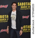 "Small photo of LOS ANGELES, CA - MARCH 19, 2014: Gilles Marini at the premiere of ""Sabotage"" at Regal Cinemas L.A. Live."