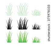 grass vector | Shutterstock .eps vector #375978103