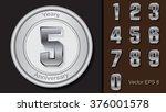 anniversary elements set... | Shutterstock .eps vector #376001578