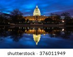Us Capitol Building And...