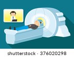 vector illustration. doctor... | Shutterstock .eps vector #376020298
