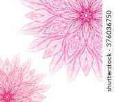 Two Pink Mandala  A Circular...