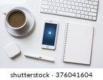chiangmai  thailand   feb 13 ... | Shutterstock . vector #376041604