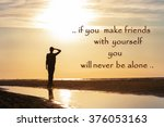if you make friends with... | Shutterstock . vector #376053163
