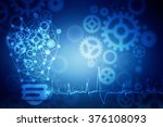 digital abstract technology... | Shutterstock . vector #376108093