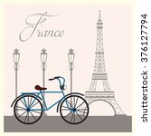 france culture design  | Shutterstock .eps vector #376127794