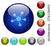 set of color connect glass web...