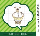 robot theme elements vector eps | Shutterstock .eps vector #376131586