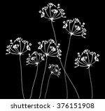 vector illustration of fennel...   Shutterstock .eps vector #376151908