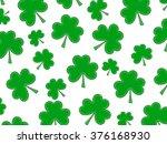 shamrock background | Shutterstock . vector #376168930