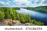 Landscape Of Saimaa Lake From...