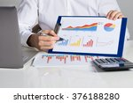 midsection of businessman... | Shutterstock . vector #376188280