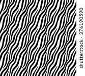Seamless Pattern Zebra Skin