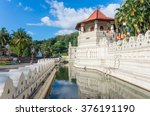 temple of the tooth in kandy ...   Shutterstock . vector #376191190