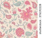 traditional oriental seamless... | Shutterstock .eps vector #376192228
