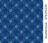 floral seamless pattern. white... | Shutterstock .eps vector #376192234
