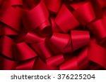 Curly Red Ribbon Ribbon...