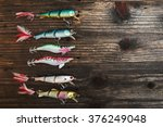 fishing baits isolated on... | Shutterstock . vector #376249048