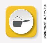 pot icon | Shutterstock .eps vector #376299418