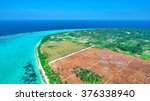 beautiful tropical island from... | Shutterstock . vector #376338940