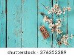 image of spring white cherry... | Shutterstock . vector #376352389