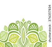 nature pattern card vector... | Shutterstock .eps vector #376357834