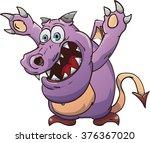 cartoon monster  vector...   Shutterstock .eps vector #376367020