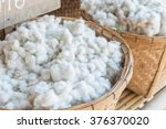 process of making cotton   raw... | Shutterstock . vector #376370020