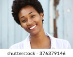close up portrait of a happy... | Shutterstock . vector #376379146
