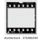 film strip illustration  vector | Shutterstock .eps vector #376386340