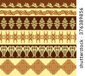 seamless pattern with... | Shutterstock .eps vector #376389856