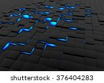 Abstract 3d Surface Made Of...