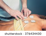 tens physical therapy.... | Shutterstock . vector #376434430