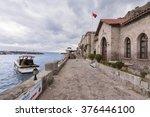 behramkale  turkey   february... | Shutterstock . vector #376446100
