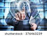 businessman using modern... | Shutterstock . vector #376463239