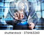 businessman using modern... | Shutterstock . vector #376463260