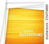 yellow orange brushed metal... | Shutterstock .eps vector #376476880