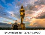 buddha status  | Shutterstock . vector #376492900