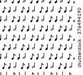 vector set of doodle on music... | Shutterstock .eps vector #376494190