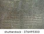 Metallic Crocodile Skin Shape...