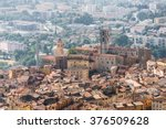 old town of grasse  town in...   Shutterstock . vector #376509628