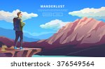 web vector  illustration on the ... | Shutterstock .eps vector #376549564