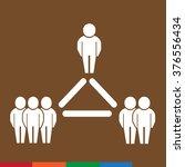 people icon illustration design  | Shutterstock .eps vector #376556434