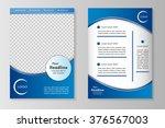 vector flyer template design...   Shutterstock .eps vector #376567003