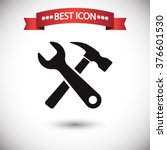 tools icon vector | Shutterstock .eps vector #376601530