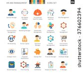 human resources and management... | Shutterstock .eps vector #376602394