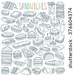 Various Types Of Sandwiches  ...